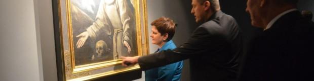 Premier Beata Szydło w Muzeum Diecezjalnym