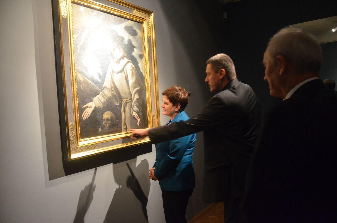 Premier Beata Szydlo Muzeum Siedlce 0