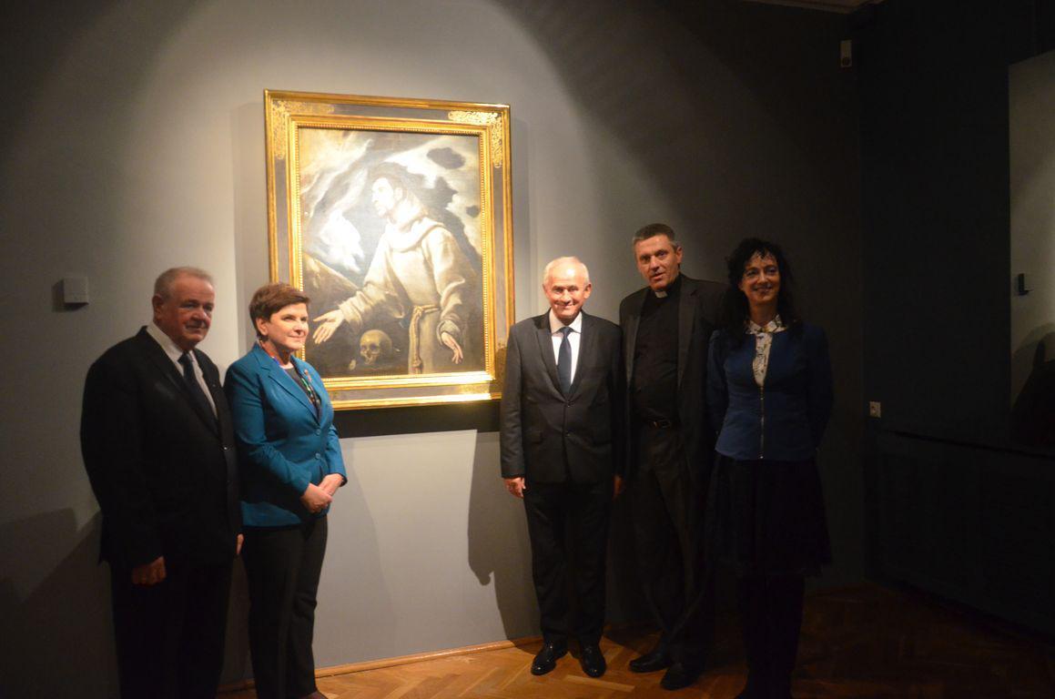 Premier Beata Szydlo Muzeum Siedlce 1