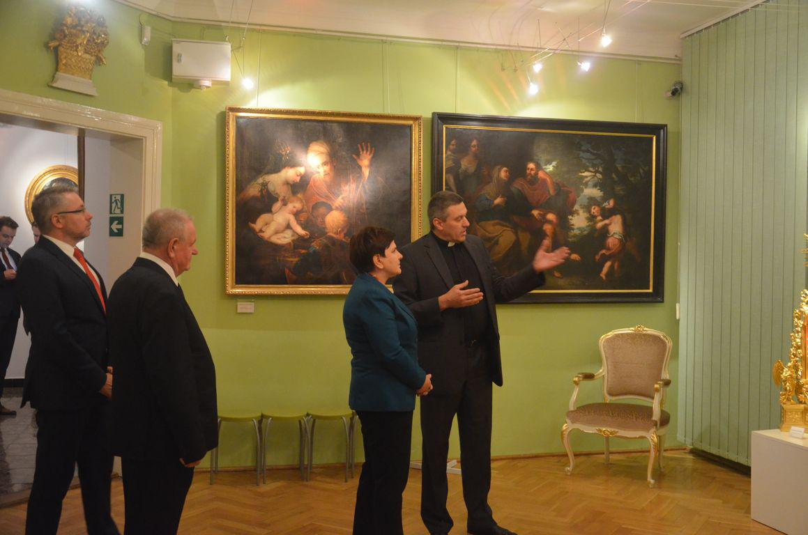 Premier Beata Szydlo Muzeum Siedlce 3