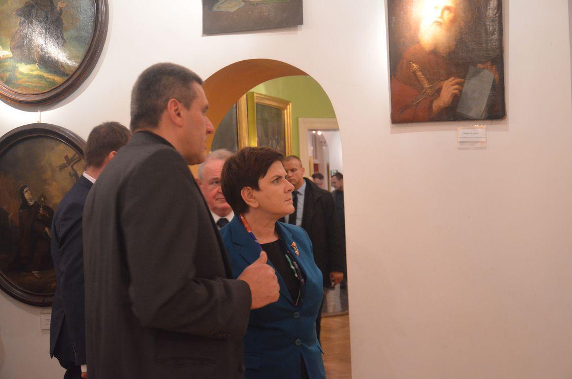Premier Beata Szydlo Muzeum Siedlce 4