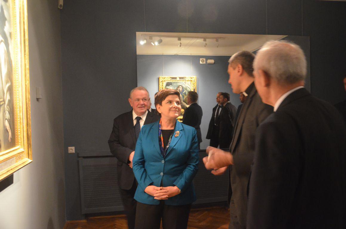 Premier Beata Szydlo Muzeum Siedlce