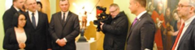 Prezydent A. Duda z wizytą w Muzeum Diecezjalnym